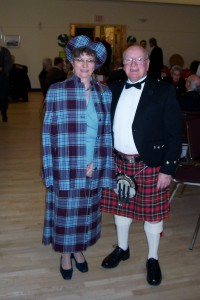 Okanagan's Mr Scotland and His Bonnie Lassie