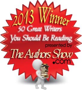 50 Great Writers logo