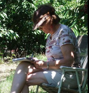 Gayle writing - colour