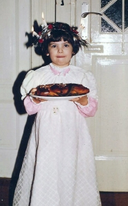 Gwynne as Lucia - age 4