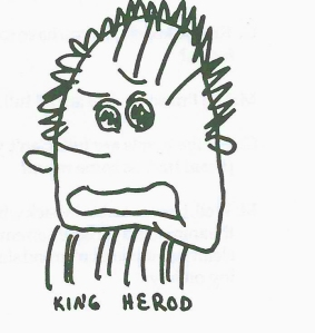 King Herod for Christmas Story