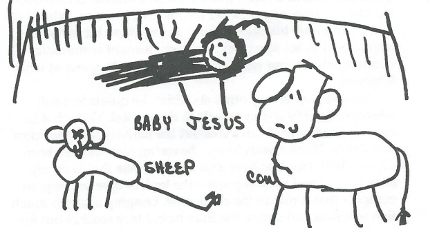 THE CHRISTMAS STORY ACCORDING TO GWYNNE