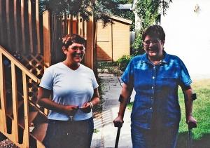 Gwynne & Gayle on crutches-Aug 1999_edited-1
