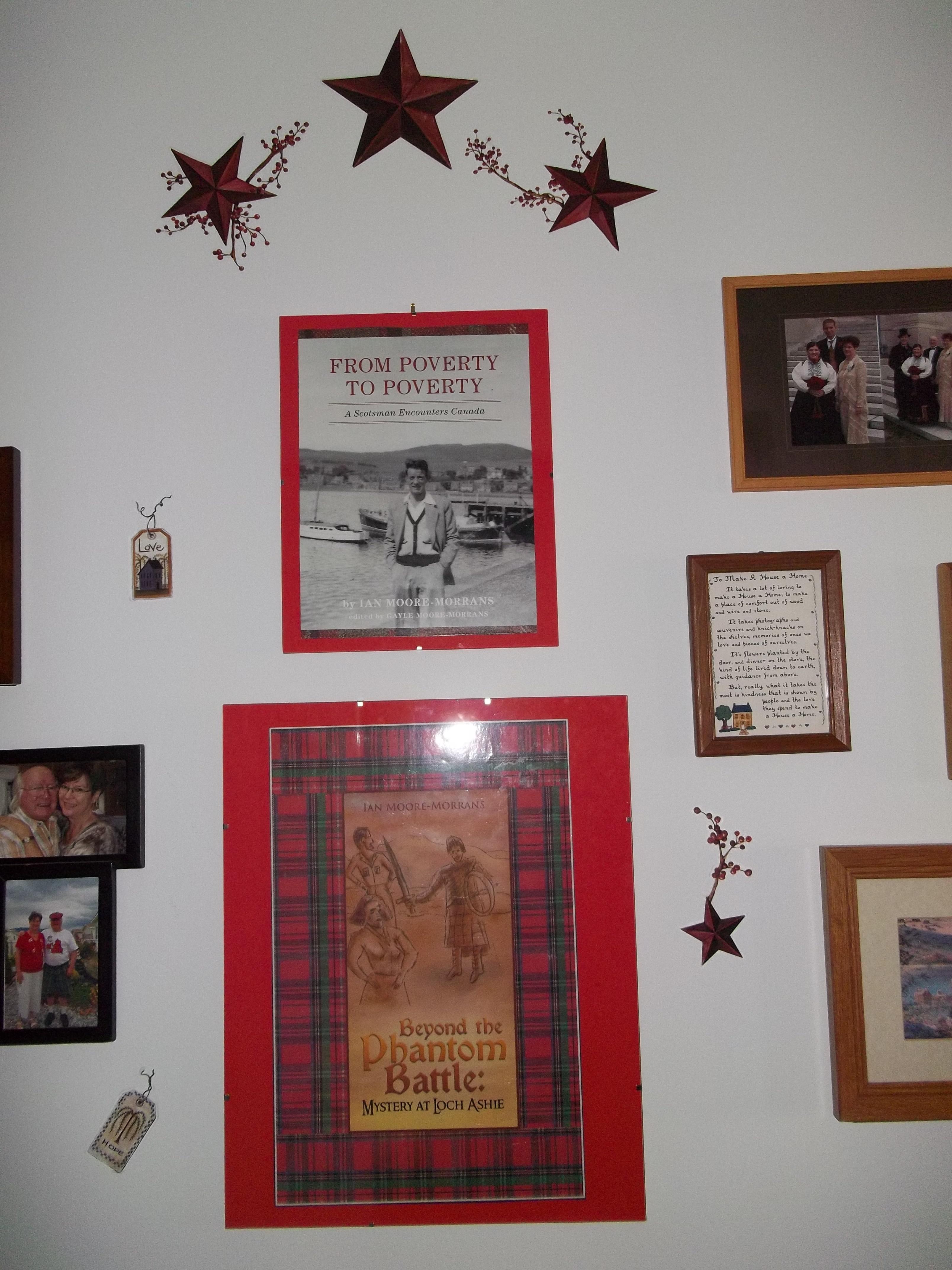 Hallway-Ian's book promotions