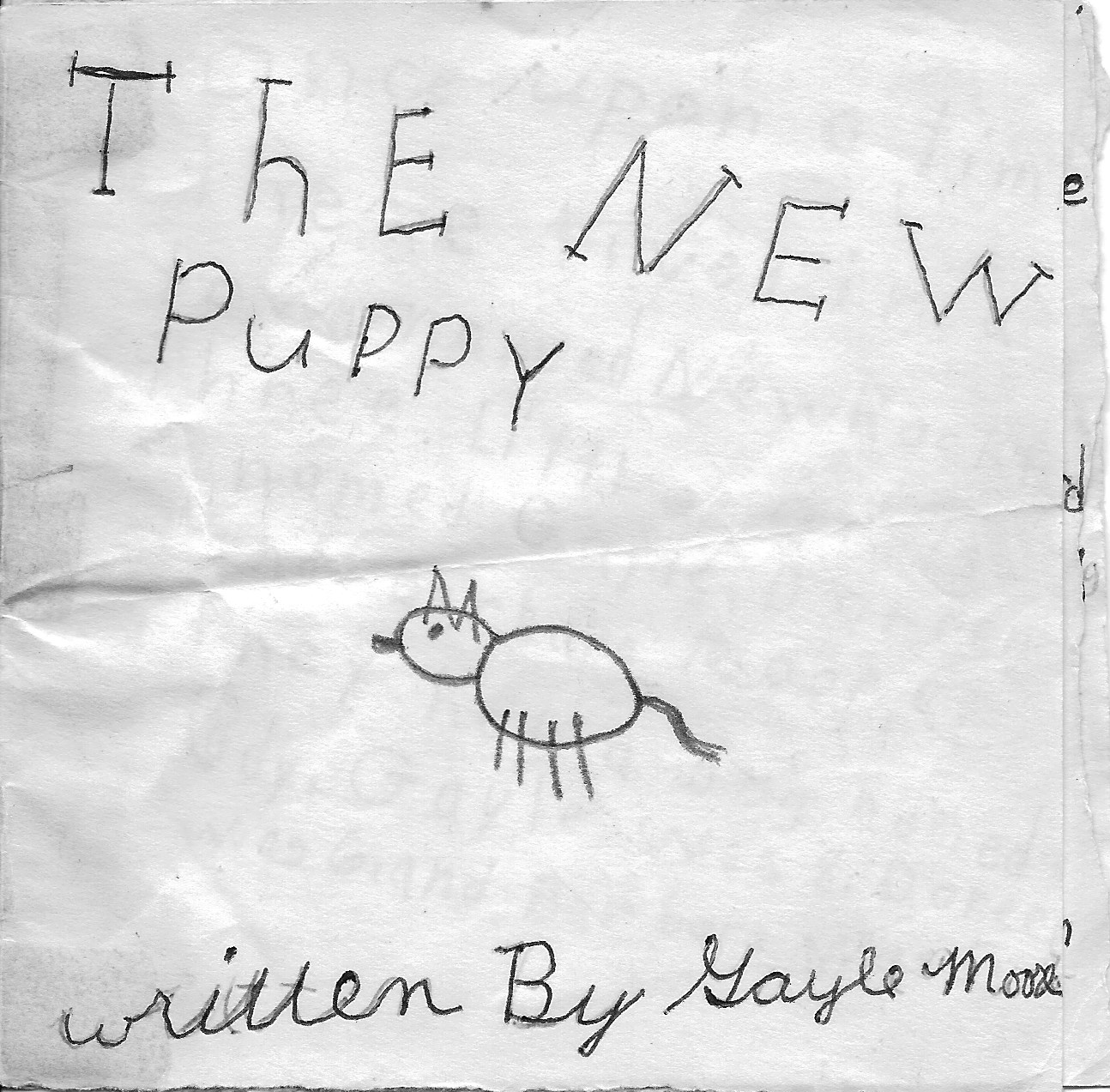 The New Puppy Cover